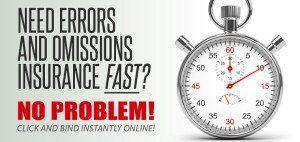 E&O insurance for professionals