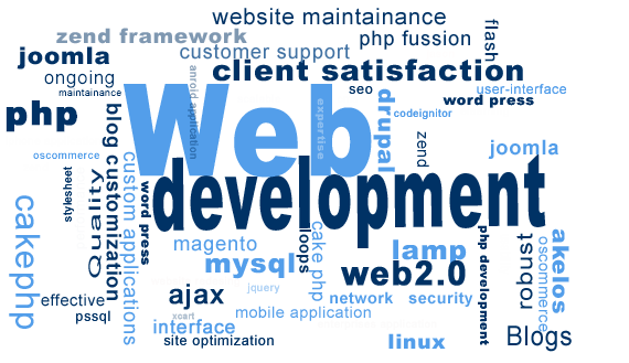 web development languages