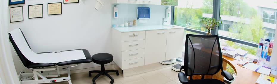 Dermatologist clinic picture
